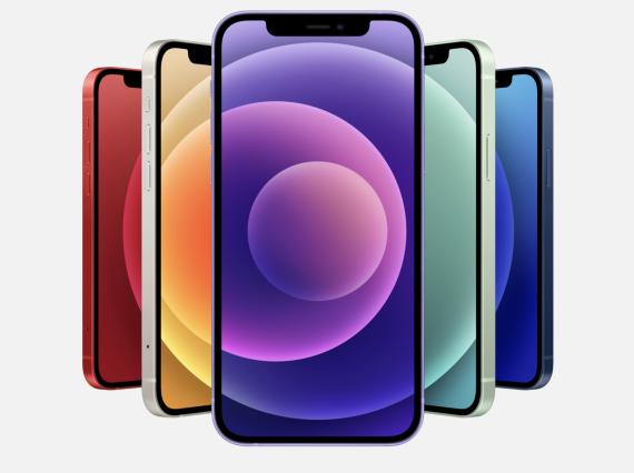 iPhone 12 lila