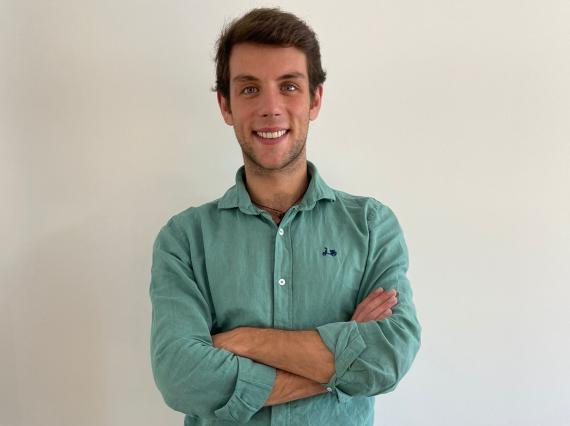 David Alonso, responsable en España de la startup británica Dija