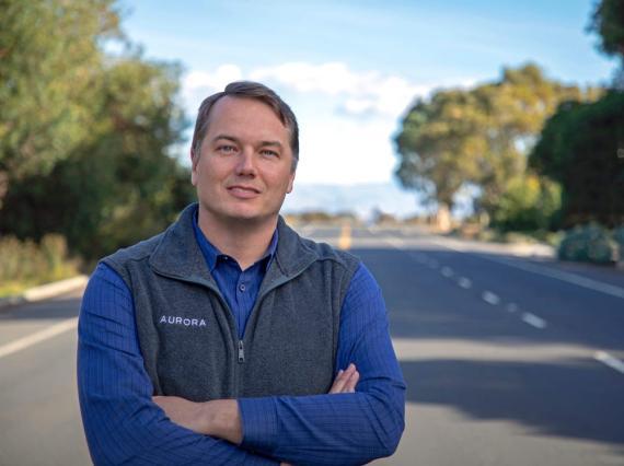 Chris Urmson, CEO de Aurora Innovation