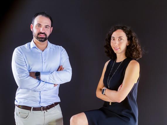 Paul Barroso y Haydée Barroso, fundadores de Atani