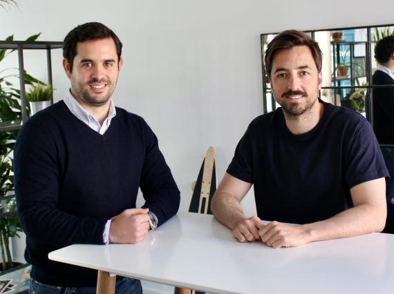 Albert Nieto (i) y Jorge Poyatos (d), cofundadores de Seedtag
