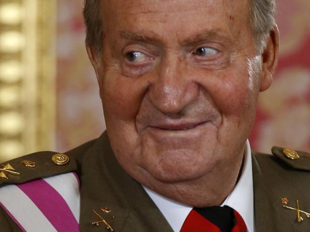 Juan Carlos I, rey emérito de España.