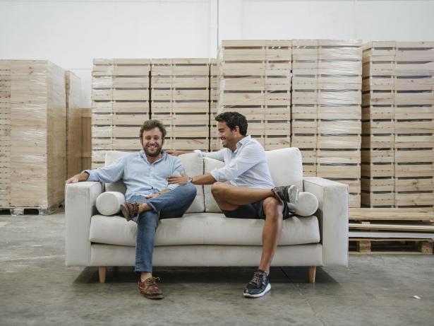 Fernando Jiménez y Josep Talavera, fundadores de Decowood