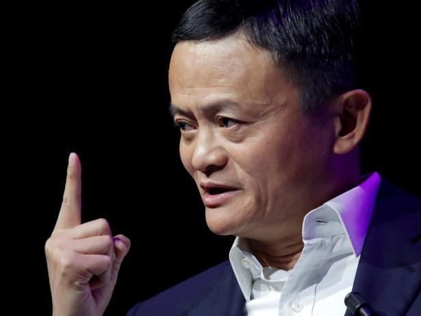 Jack Ma, fundador y presidente de Alibaba.
