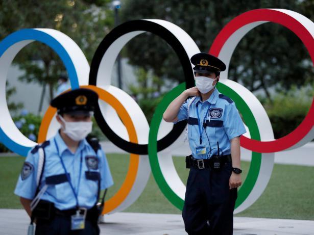 Juegos olimpicos tokio seguridad logo