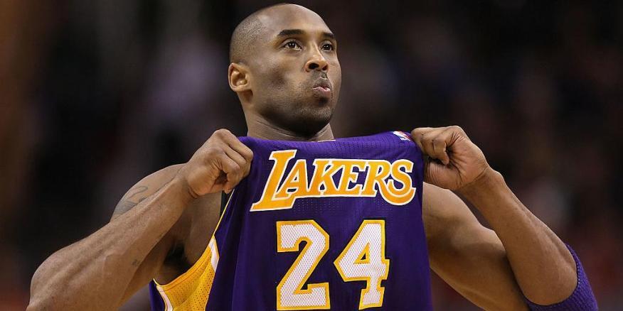 Kobe Bryant, durante su etapa con Los Lakers.