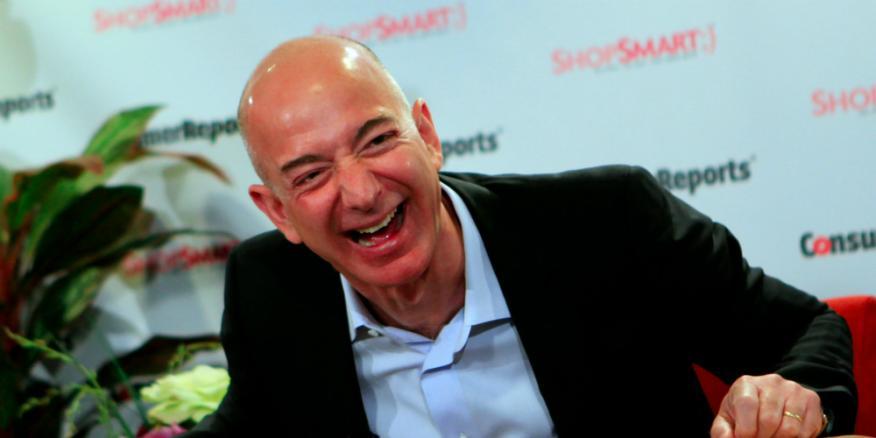 El fundador y CEO de Amazon, Jeff Bezos.