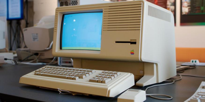 Apple Lisa, uno de los primeros ordenadores personales con interfaz de usuario.