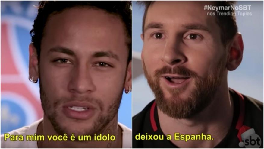 Messi y Neymar han intercambiado piropos esta semana