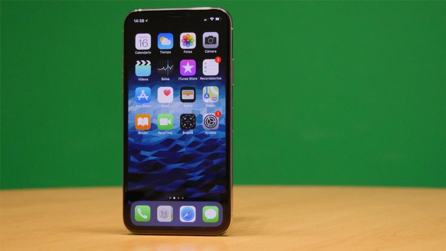 Así se ve la pantalla OLED del iPhone X