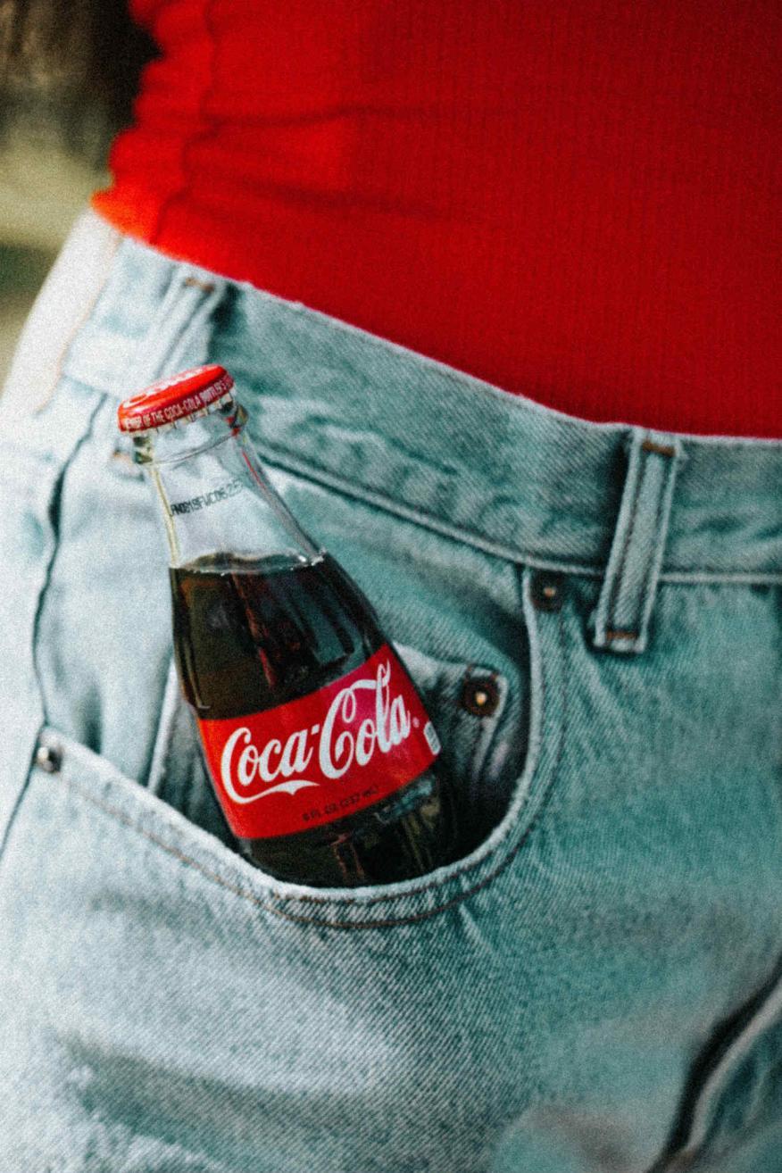 Botella Roja de Coca-Cola