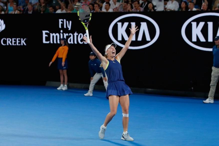 Caroline Wozniacki ha ganado el Open de Australia 2018.