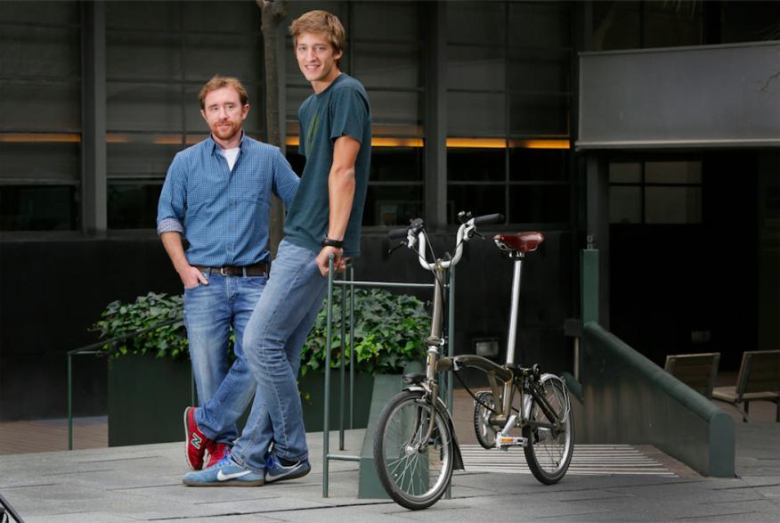 Oscar Pierre y Sacha Michaud, fundadores de la startup.