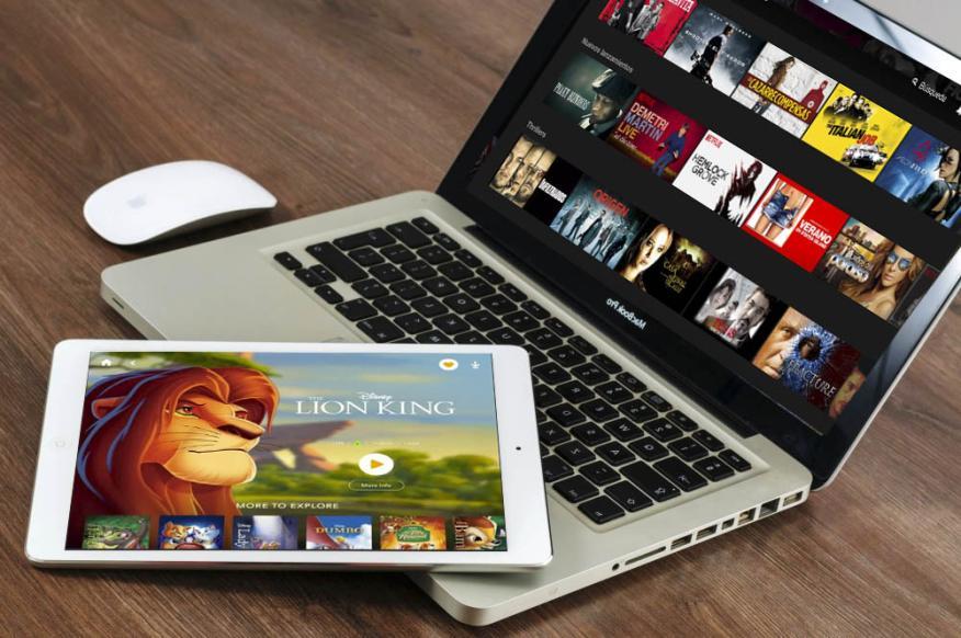 Disney y Netflix en streaming