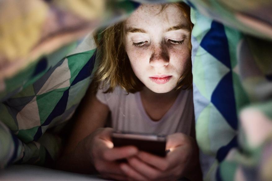 Menores redes sociales