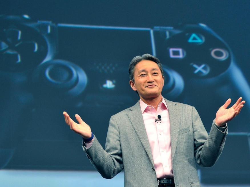 El CEO saliente de Sony, Kaz Hirai.