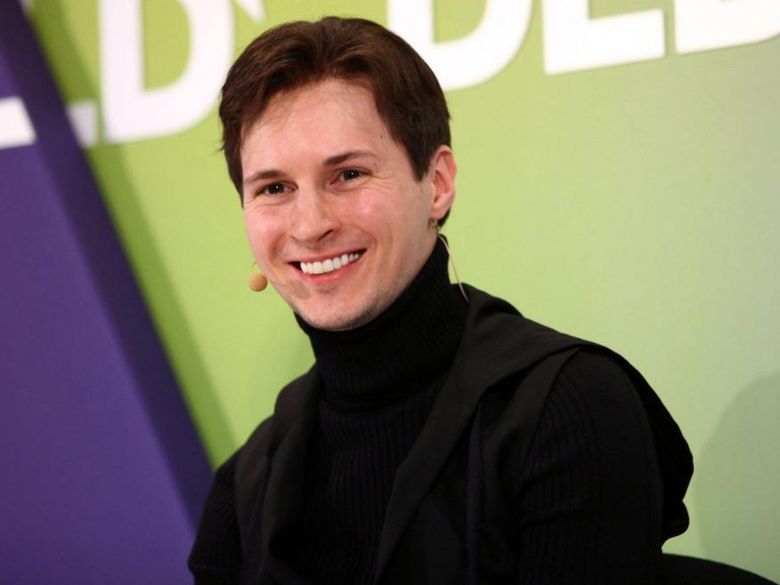El CEO de Telegram, Pavel Durov.