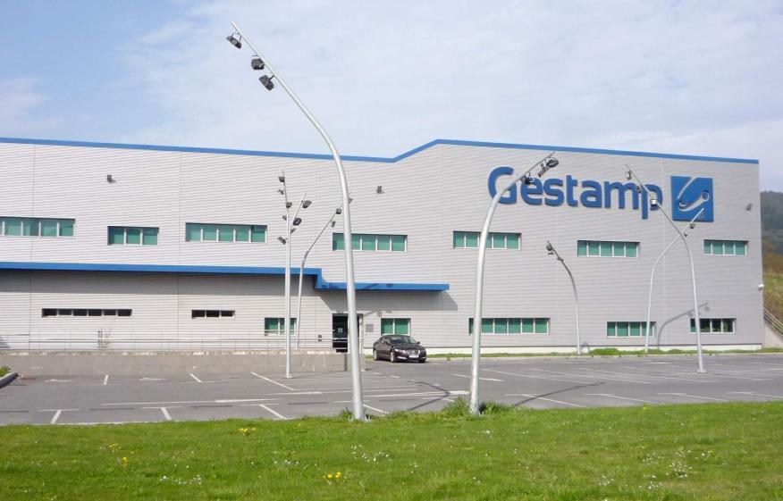 Imagen de uno delos edificios empresa Gestamp