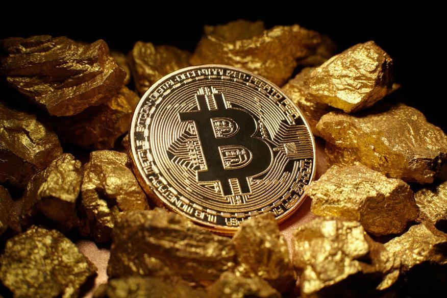 Minado bitcoins