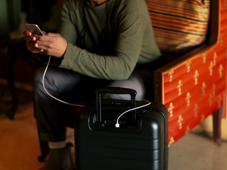 Esta maleta de la marca Away cuesta 256 euros.