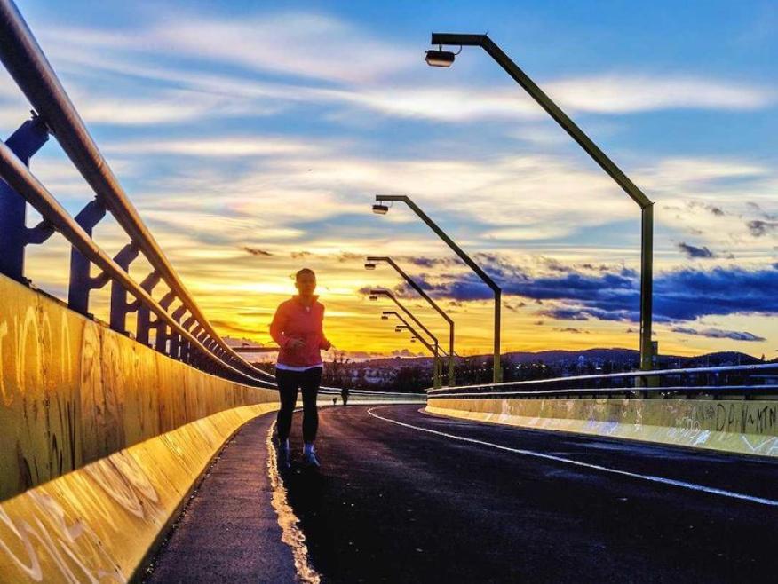 ¿Ya corres un kilómetro al día? ¿Por qué no siete?