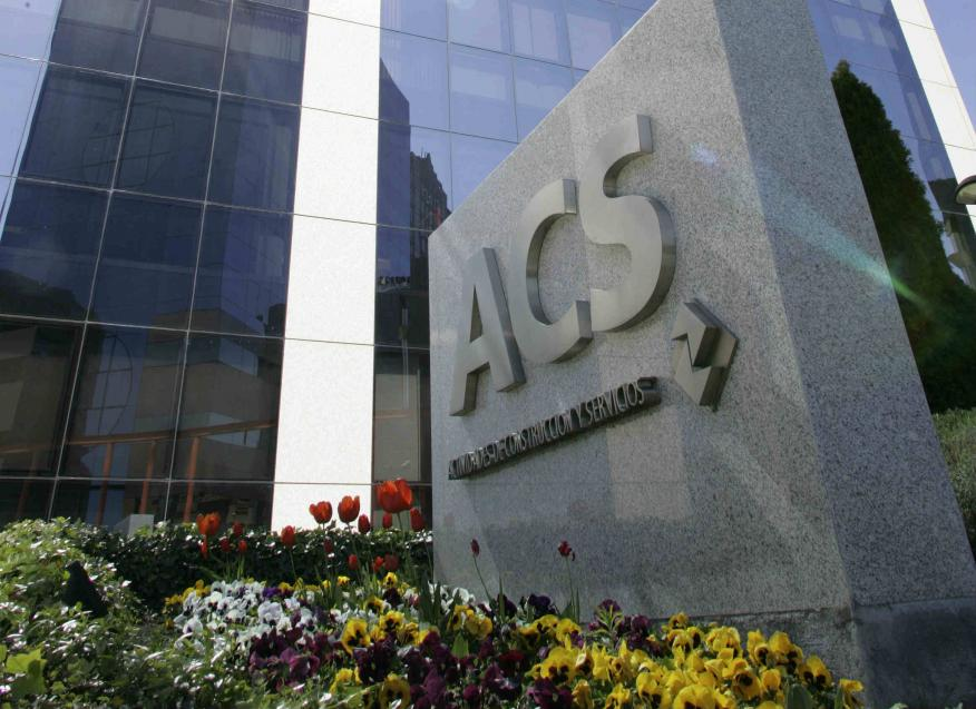 Imagen del logo de ACS.