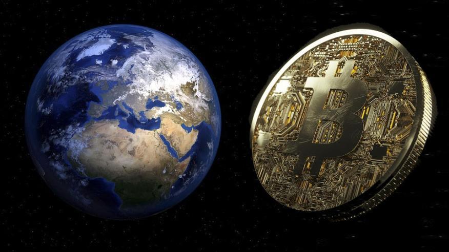 País y bitcoin