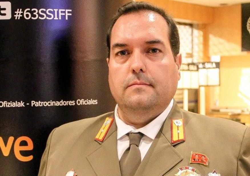 Alejandro Cao de Benós, presidente de la Asociación de Amistad con Corea (AFK)