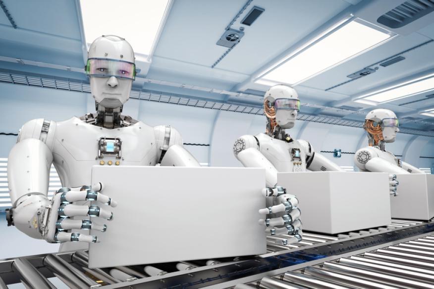 Automatización a través de los robots