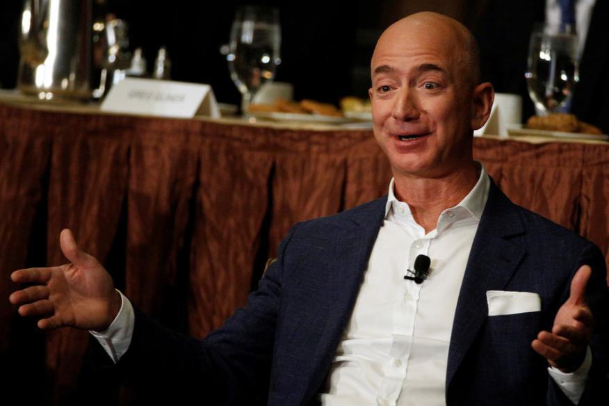 El CEO de Amazon, Jeff Bezos
