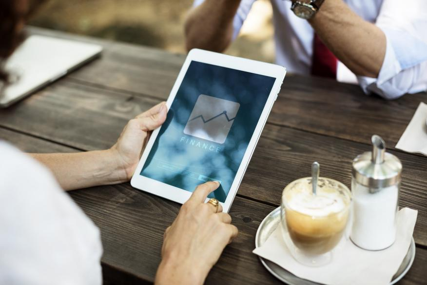 finanzas tablet