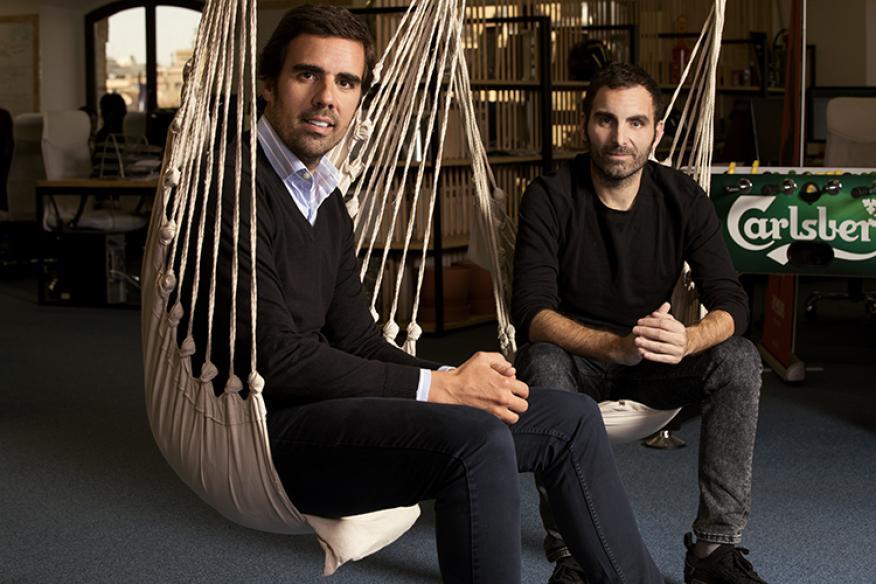 Guillermo Gaspart y Christian Rodríguez, cofundadores de By Hours