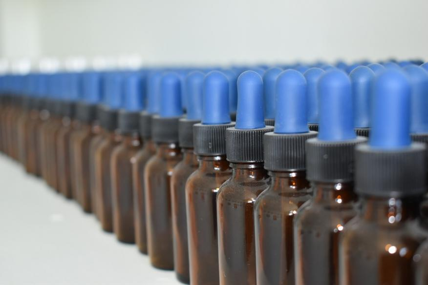 Varios productos homeopáticos