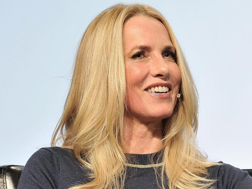 Laurene Powell Jobs, widow of the late Apple CEO Steve Jobs.