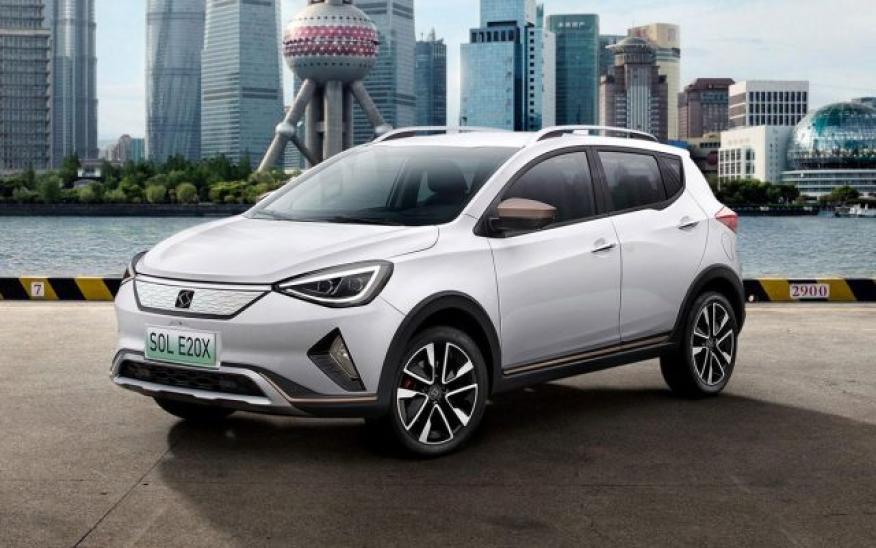 El Sol E20X es un SUV eléctrico con 300 km de autonomía respecto al ciclo NEDC.