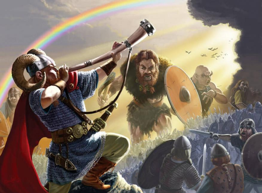 Heimdall, vigía del fin del mundo en la mitología nórdica