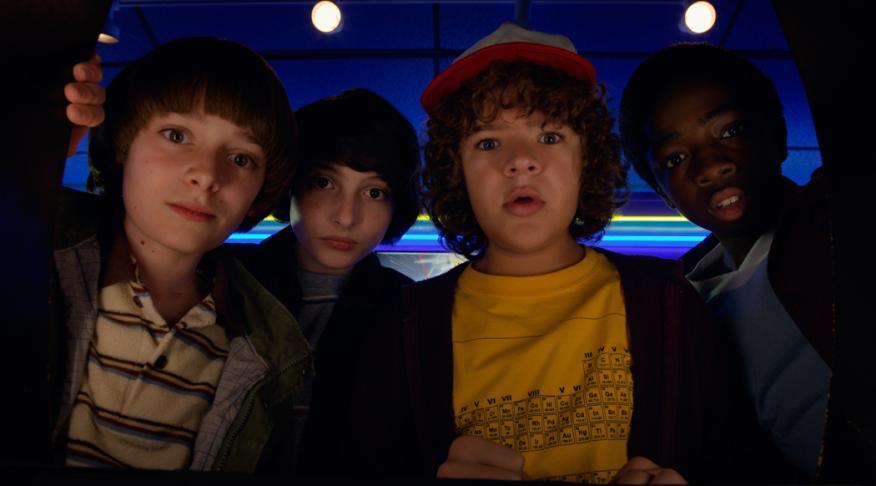 Stranger Things, una de las series estrella del catálogo de Netflix.