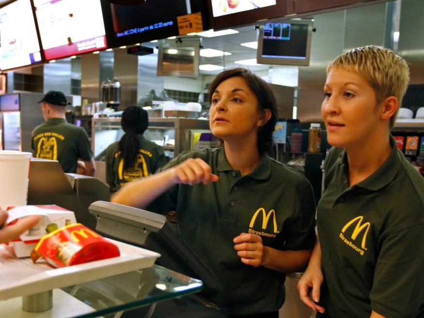 trabajadoras McDonalds