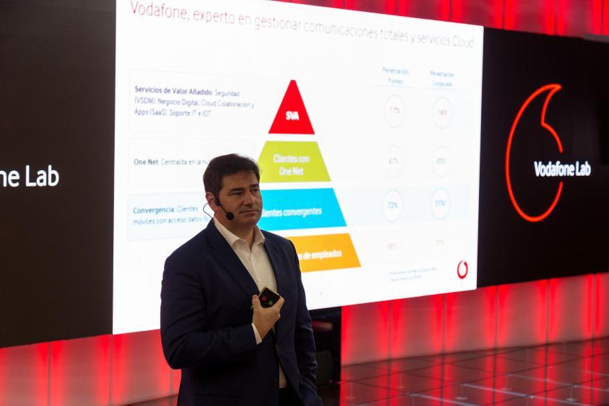 Andrés Vicente, director general de particulares de Vodafone.