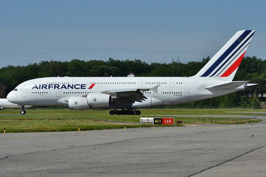 Avión Airbus de Air France