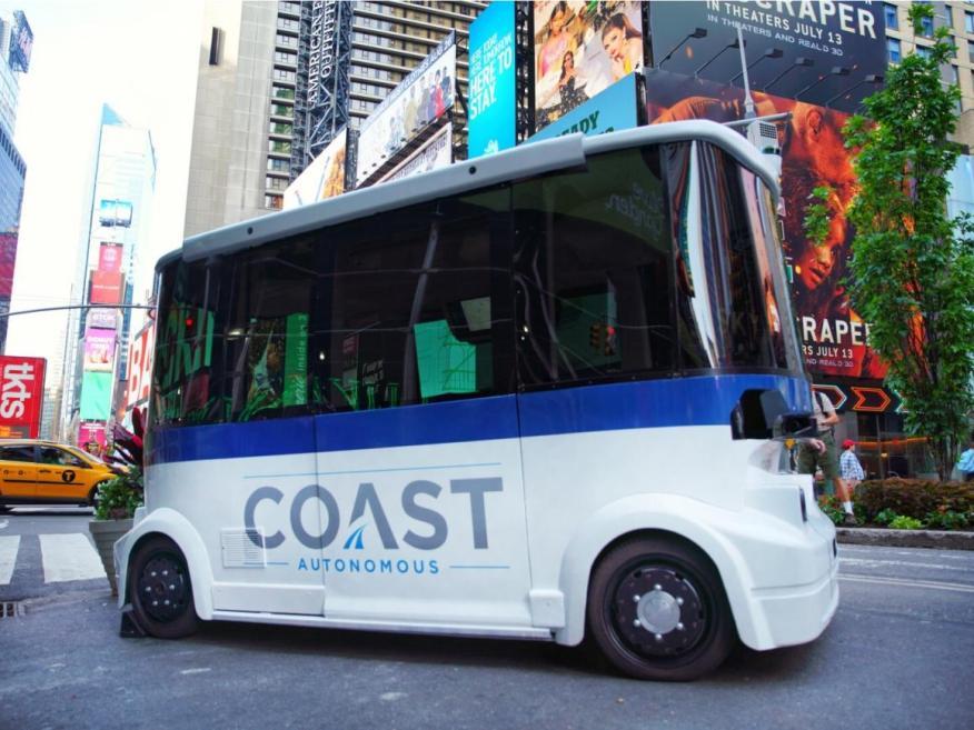 Coast Autonomous produce software para coches autónomos de baja velocidad.