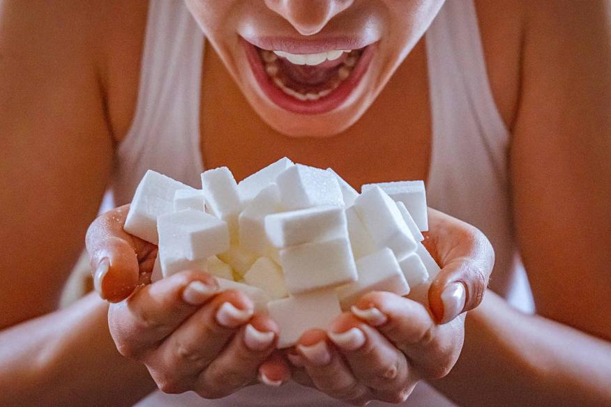 Comer azúcar