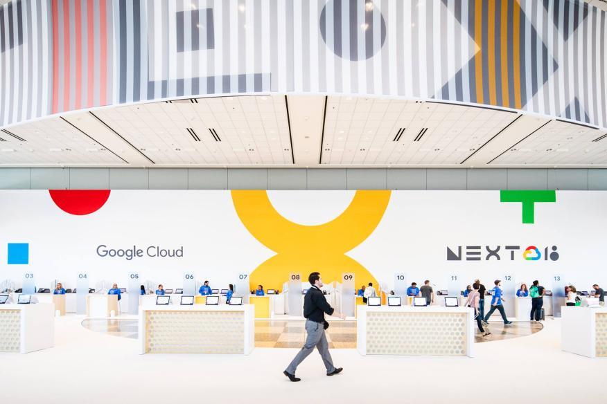 Google Cloud Next 2018.