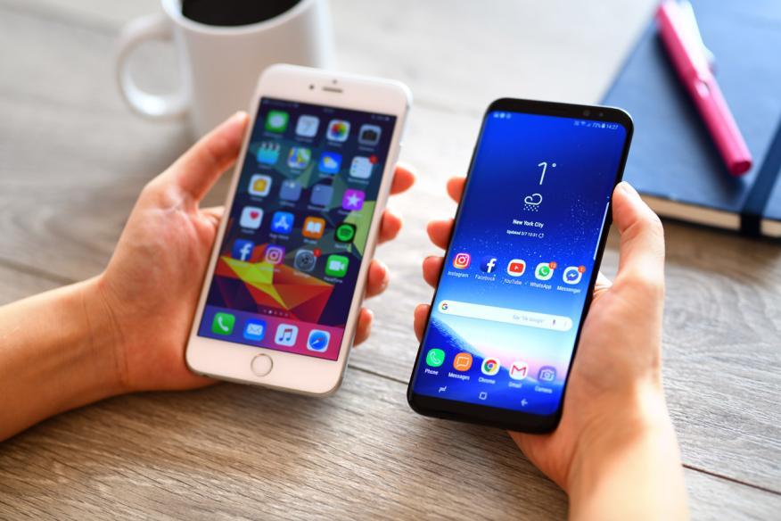 Guerra entre Android y Apple