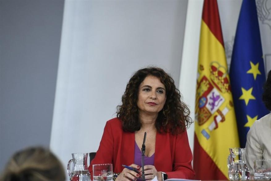 María Jesús Montero, tras un Consejo de Ministros