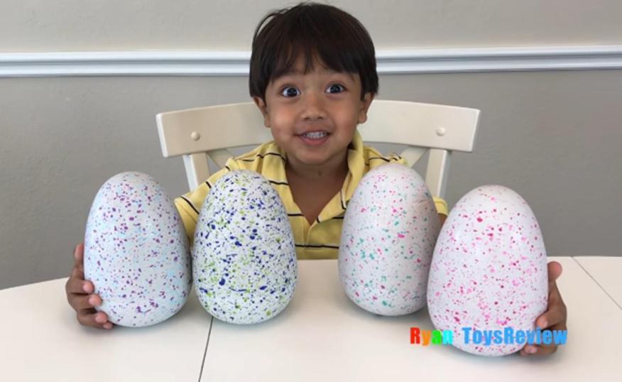 Ryan, que tiene 7 años, es el responsable de Ryan ToysReview.