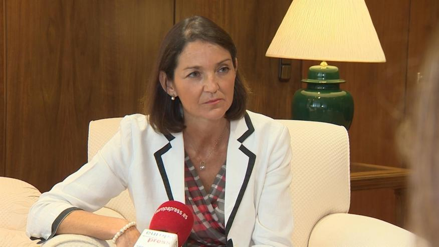 ReyReyes Maroto, ministra de Industria, Comercio y Turismo.