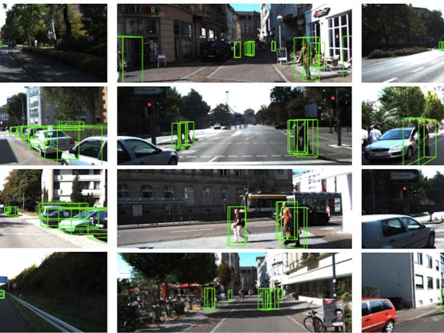 Apple's object-detection software.