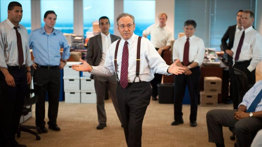 Un fotograma de Margin Call.