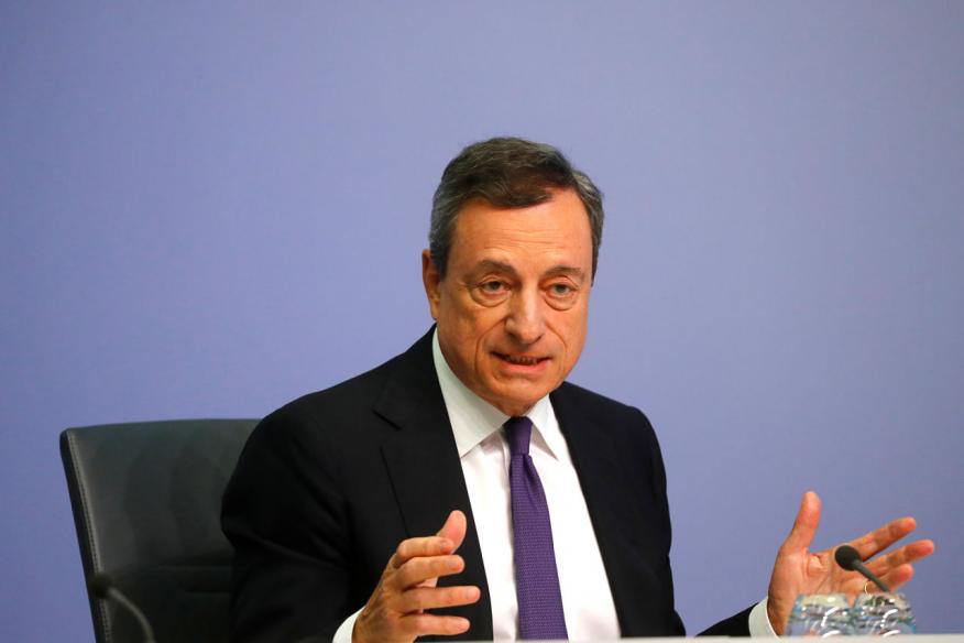 El presidente del Banco Central Europeo, Mario Draghi